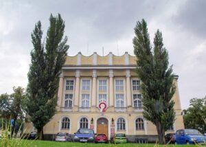 Siedziba Powiatowej Poradni Psychologiczno-Pedagogiczna wSkierniewicach - czerwiec 2019